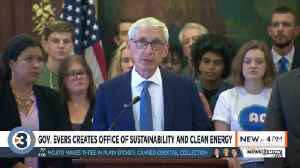 Gov. Evers creates office of sustainability and clean energy [Video]
