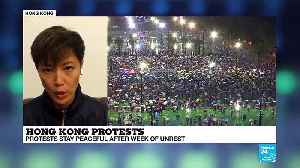 Hong Kong protests: 'We are not divided,' says activist and singer Denise Ho [Video]