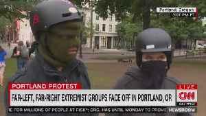 CNN on Antifa: 'Sometimes Violence Does Erupt' [Video]