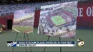 New renderings of SDSU stadium unveiled [Video]