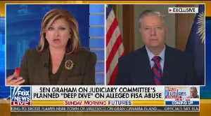 """Sen. Graham explains """"investigating the investigators"""" in the Russia probe [Video]"""