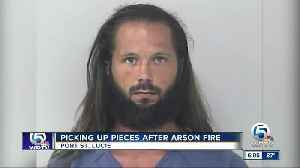Man arrested for arson/burglary in Port St. Lucie house fire [Video]