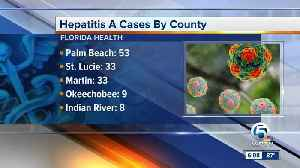 New cases of Hepatitis A in South Florida [Video]