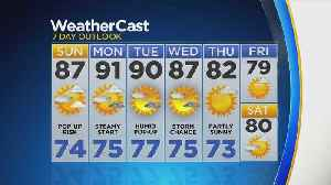 New York Weather: CBS2 8/17 Weekend Forecast at 6 p.m. [Video]