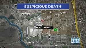 Body Found In Stockton [Video]