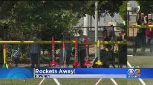 Future Scientists, Explorers Get Free Model Rockets At Columbia Memorial Space Center [Video]