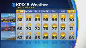 TONIGHT'S FORECAST: Here's the latest from the KPIX 5 Weather Team [Video]