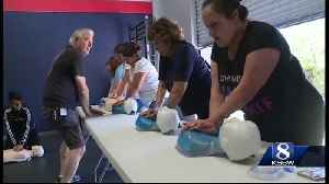 CPR training in the wake of the Gilroy Garlic Festival mass shooting [Video]