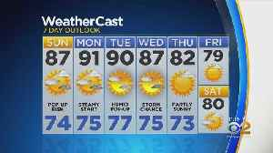 New York Weather: CBS2 8/17 Nightly Forecast at 11PM [Video]