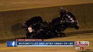 Motorcycle Crash Update [Video]