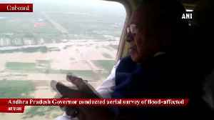 AP Governor conducts aerial survey in flood-hit areas [Video]