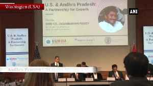 Andhra CM Jagan Mohan Reddy attends Business Roundtable Discussion in US [Video]