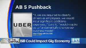 Bill Could Impact Gig Economy [Video]