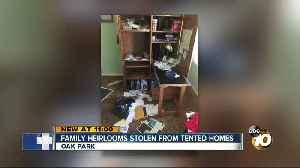 Family heirlooms stolen during fumigation break-ins [Video]