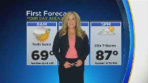 First Forecast This Morning- Sunday August 18, 2019 [Video]