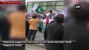 Shazia Ilmi other BJP leaders confront Pak supporters raising anti Indian slogans in Seoul [Video]