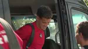 Coutinho in Munich ahead of Bayern move [Video]