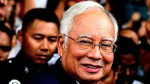 Former Malaysian PM Najib Razak in court for money laundering