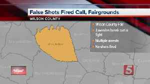 False report of shooting sends fairgoers into panic, police say [Video]