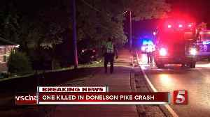 2 killed, 1 critically hurt in Donelson Pike crash [Video]