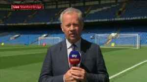 SSN reporter soaked by Chelsea sprinkler! [Video]