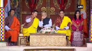 PM Modi wraps up Bhutan trip after monument visit & cultural programme [Video]