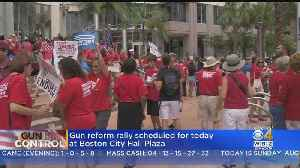 Gun Reform Rally Scheduled For Sunday Afternoon At Boston City Hall Plaza [Video]