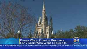 Disney Offering Discounts To Visitors Who Sleep In [Video]