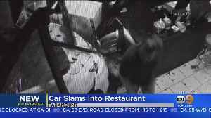 Vehicle Rams Into Restaurant In Paramount In Crash Caught On Video [Video]