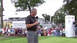 McIlroy's funny Medinah welcome [Video]