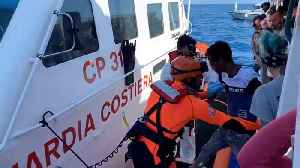 Open Arms migrant rescue boat rejects Spanish offer of safe haven [Video]