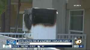 Dryer starts fire in Coronado apartment [Video]