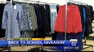 Back to school giveaway [Video]