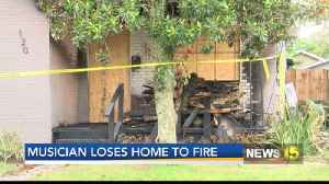 Musician loses home [Video]