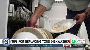 Consumer Reports: Tips for replacing your dishwasher [Video]