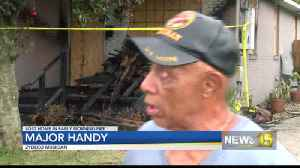 zydeco musician house burns [Video]
