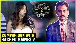 Ekta Kapoor SUPERB Reaction To Sacred Games 2 VS M.O.M Mission Over Mars Series [Video]