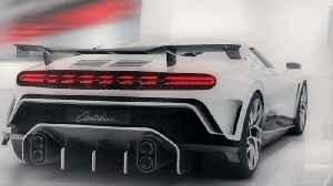 Bugatti Centodieci at Pebble Beach Car Show 2019 [Video]