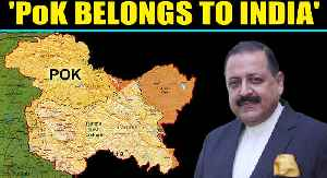 After Defence Minister,  Jitendra Singh makes big claim on PoK [Video]