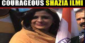 Shazia Ilmi Confronts Pakistani protesters in Seoul says, 'Don't Abuse Our PM' [Video]