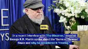 George R.R. Martin Admits HBO's 'Game of Thrones' Slowed Him Down [Video]
