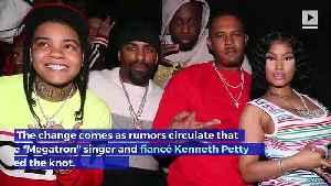 Nicki Minaj's Official Twitter Handle Now Says 'Mrs. Petty' [Video]