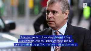 Prince Andrew Releases Statement Distancing Himself From Jeffrey Epstein [Video]