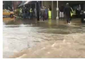 Storm Brings Flooding to Downtown Cave Spring, Georgia [Video]