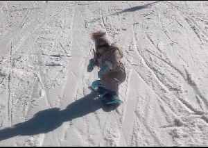 Snow Baby: 15-Month-Old Takes to the Slopes [Video]