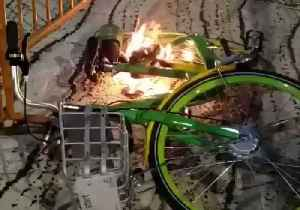 'Lithium Batteries are Safe' Says Lime After Footage of Flaming Bike Sparks Media Interest [Video]