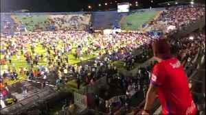 Three dead after a soccer riot in Honduras [Video]