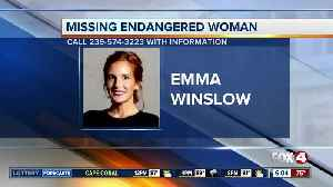 Cape Coral woman Emma Winslow reported missing and endangered Sunday [Video]
