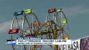 Erie County Fair reaches attendance record [Video]