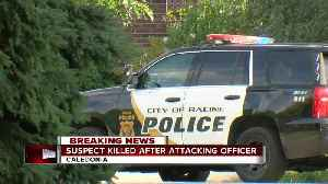 Police: Suspect killed after attacking Caledonia officer [Video]